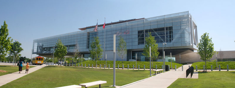The Clinton Library. Photo by James Hyde.