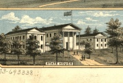 State House in 1871. Drawn & published by A. Ruger. Library of Congress, Geography and Map Division.