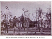 View of the State House in the 1890s. From Pope's Early Days in Arkansas (1895).