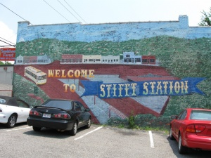 Stifft's Station mural. Photo by Phil Frana.