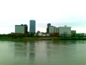 Little Rock Skyline from North Little Rock. Photo by Phil Frana.