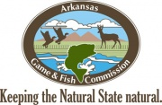 Arkansas Game and Fish Commission logo.