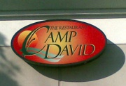 Camp David is a restaurant located inside the Holiday Inn Presidential Conference Center. Photo by Phil Frana.